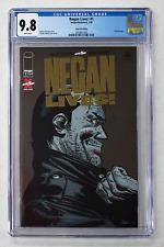 NEGAN LIVES #1 CGC 9.8 SCARCE GOLD FOIL LOGO VARIANT EDITION WALKING DEAD COMIC