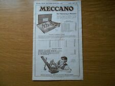 Meccano / Dinky Price Catalogue April-May 1949