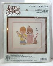Precious Moments Gimme That Old Time Religion Counted Cross Stitch Kit #131-59