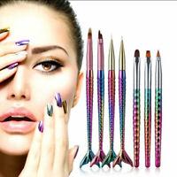 1pc Strumento Pennelli Unghie Gel Acrilico UV Linea di disegno per Nail Art