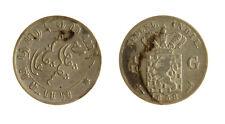 s1170_282) NETHERLANDS INDIES - INDIE OLANDESI 1/10 GULDEN  AG 1858
