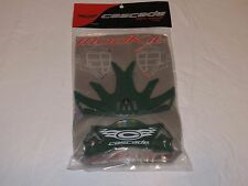 Cascade lacrosse Modkit Mod Kit helmet Green for Clh2 Clh2 plus only Nos skin