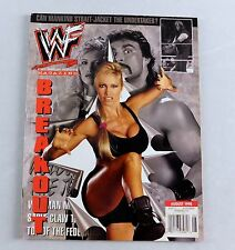 Marc Mero Sable August 1998 The Undertaker Wrestling Magazine Raw WWE WWF