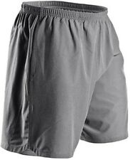 SUGOI Pace Short Mens Large Gray Running Reflective Lined Performance Pockets