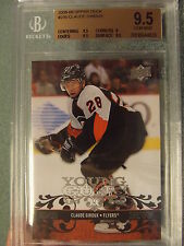 2008-09 Upper Deck Young Guns Claude Giroux RC  BGS 9.5  Gem Mint