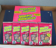 WACKY PACKAGES ANS5 SEALED 5 UNOPENED PACKS IN EXCELLENT CONDITION