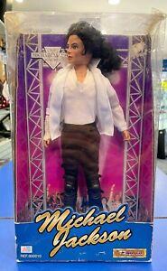 Vintage 1995 Michael Jackson Black & White Song Doll Street Life Figure 800010