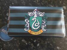 Harry Potter Slytherin Crest make up bag pencil case BNWT School College stripe