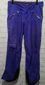 Marmot Palisades Women's Gore-Tex Small S/P S Blue Ski Pants
