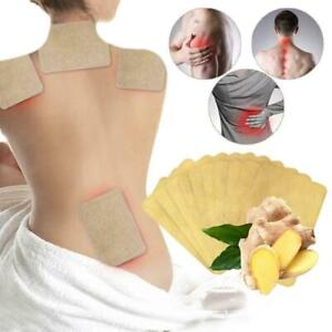 50X Ginger Detox Patch Chinese Ginger Herbal Adhesive Health Care Pads X0J2 Fast