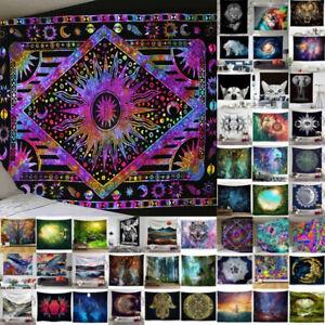 Tapestry Bohemian Blanket Wall Hanging Mandala Hippie Bedspread Mat Modern Decor