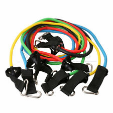 Resistance Band Set 11 Pcs with Exercise Tube Bands Door Anchor