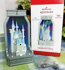 Hallmark Disney's Cinderella Castle Magic ornament 2013 D23 Repaint