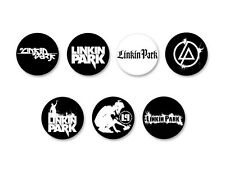 Lot Pack Badge Button Ø38mm Linkin Park Rock US
