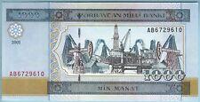 Azerbaijan - 1,000 Manat - 2001 - WPM# 23