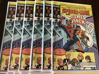 SPIDER-MAN AND POWER PACK #1 1984  NEA CHILD ABUSE PREVENTION 5 Copies Rare