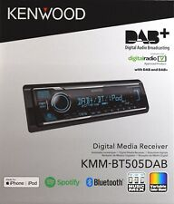 Kenwood KMM-BT505 mit DAB-Antenne,DAB-Tuner,CD,USB,MP3,AUX,Buetooth
