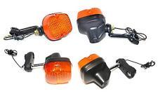 KR Blinker Satz 4 Stück Indicator Set HONDA XL125  XL185  XL200 XL250 XL 500 S R