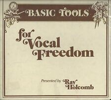 Basic Tools for Vocal Freedom  Ray Holcomb  Cassette Tapes