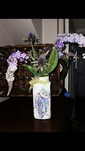 SALE !!!!! Beautiful Decoupage/handmade/vase/OWL/ Lights/
