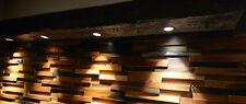 Suspended Wood Beam Spot Lights, Faux, Oak Wood Pendant, Ceiling Light Fixture