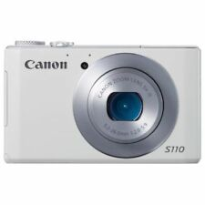 Near Mint! Canon PowerShot S110 12.1 MP CMOS white - 1 year warranty