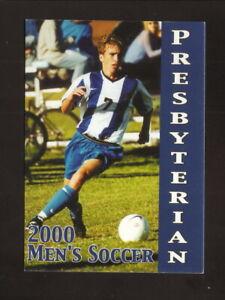 Presbyterian Blue Hose--2000 Soccer Pocket Schedule