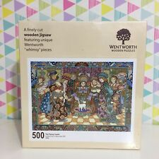 "Wentworth 500 Piece Wooden Jigsaw Puzzle, ""Whimsy"" pieces - The Flying Carpet"