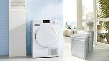 Willow Wicker Laundry Basket Home Bathroom Storage Washing Clothes White Medium