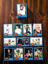 Star Wars Series 1 1977 Topps Complete 66 Card Set Mid Grade Set Blue