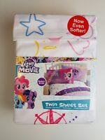 My Little Pony Movie Twin Sheet Set Super Soft Girls Gift