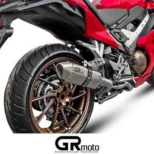 Exhaust for Honda VFR800 F 2014 - 2019 GRmoto Muffler Titanium