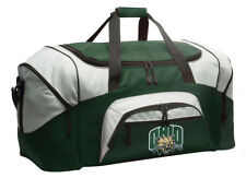Ohio University Duffel Bag Gym Bags Suitcase LOADED w/ POCKETS