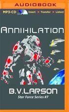Star Force: Annihilation 7 by B. V. Larson (2016, MP3 CD, Unabridged)