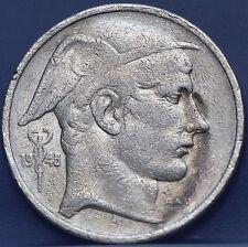 Belgie - Belgium 50 francs 1948 NLD - silver - KM# 137