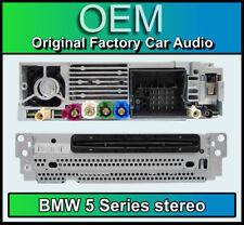 BMW 5 Series SAT NAV ESTÉREO, F10 F11 reproductor de CD, navegación por satélite, radio DAB