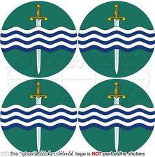 "PETERBOROUGH Ontario Canada Canadian Bumper-Helmet Stickers, Decals 2""(50mm ) x4"