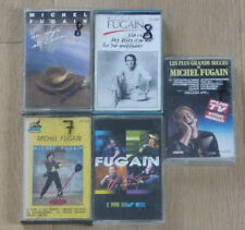 Lot de 5 Cassettes Tape K7 MICHEL FUGAIN