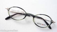 Otto Kern Designer-Brillen grau-schwarz Plastikfassung Männer Gestell Grösse M