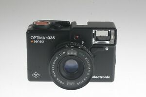 Agfa Optima 1035 sensor electronic mit Paratronic  Solitar S 2,8/40mm