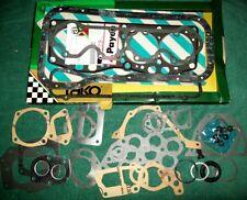 Fiat X1/9 X19 128 SOHC Engine Gasket Set (OEM Payen / Tako) 1300