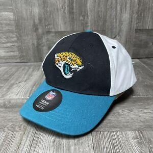 Jacksonville Jaguars Hat - Youth Adjustable Strap Cap - NFL Team Apparel NWT