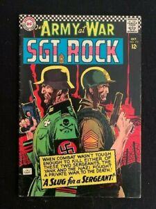 OUR ARMY AT WAR LOT #172 #185 #208 #214 RUSS HEATH JOE KUBERT SGT ROCK DC 1966