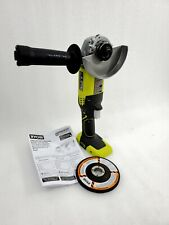 RYOBI P4221 18-Volt ONE+ Cordless 4-1/2 in Angle grinder used