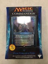 Magic The Gathering 2014 Commander Deck Peer Through Time For Card Game MTG