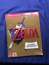 Prima's Official Strategy Guide The Legend of Zelda Ocarina of Time Nintendo 64