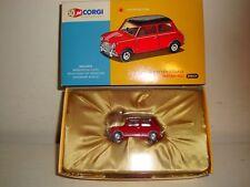 Corgi AN02528 -1961 Austin Seven Mini Cooper-Tartan Red- Ltd Ed(0101) NEW c 2006