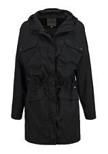 Bench Lacquer Damen Oversize Jacke leichter Parka Gr. M Schwarz [X4]