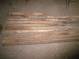Willys overland Jeep wood floor complete strips 1960