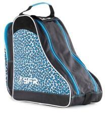 SFR Designer Ice & Skate Bag Blue Leopard Figure Hockey Roller